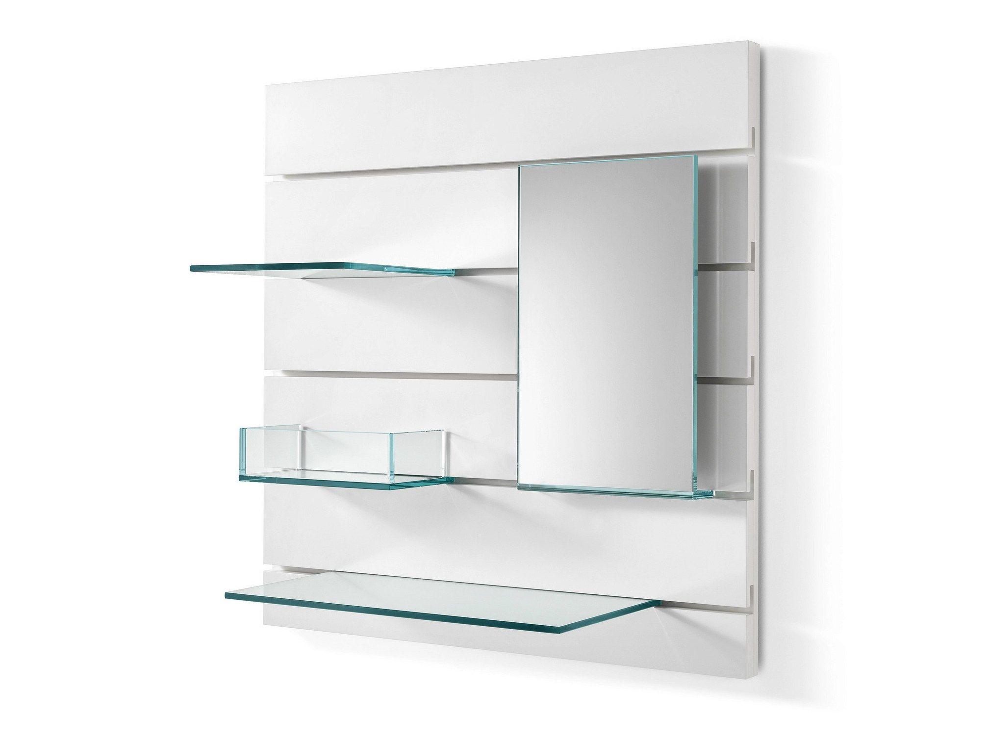 Espejo Estante De Vidrio In Fila By Td Tonelli Design Dise
