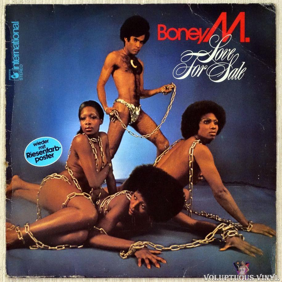 Boney M Love For Sale 1977 Stereo German Press In 2020 Boney M Vinyl Studio Album