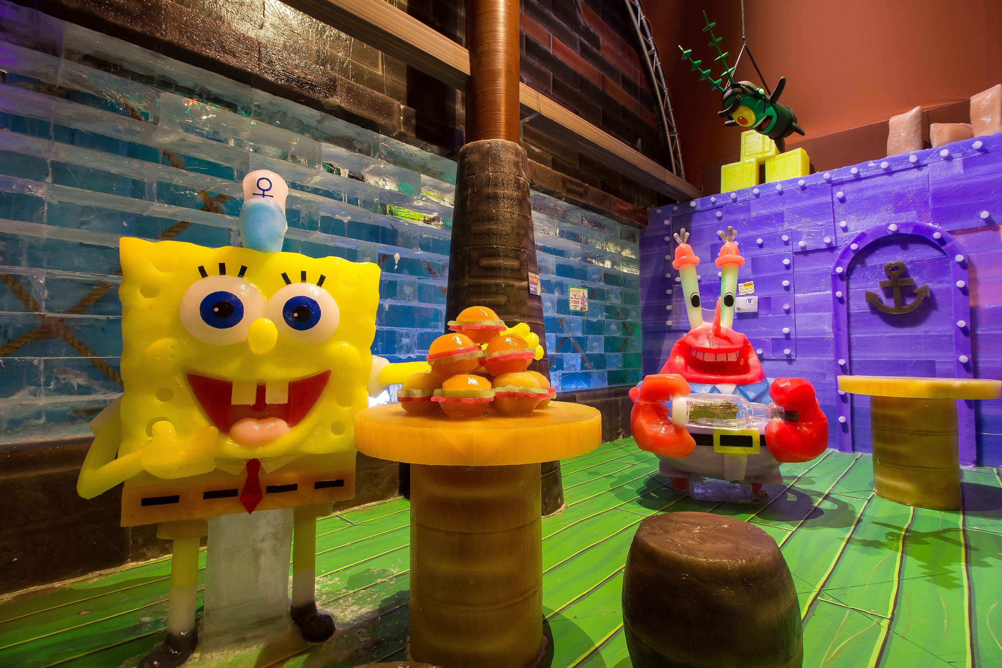 Lego spongebob krusty krab inside - 1530.1KB