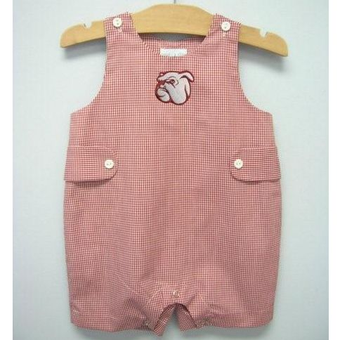 If I Ever Have A Baby Mississippi State Smocked Jon Jon From