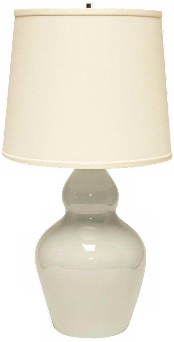Haeger Potteries Double Gourd Mist Ceramic Table Lamp Table Lamp Lamp Ceramic Table Lamps