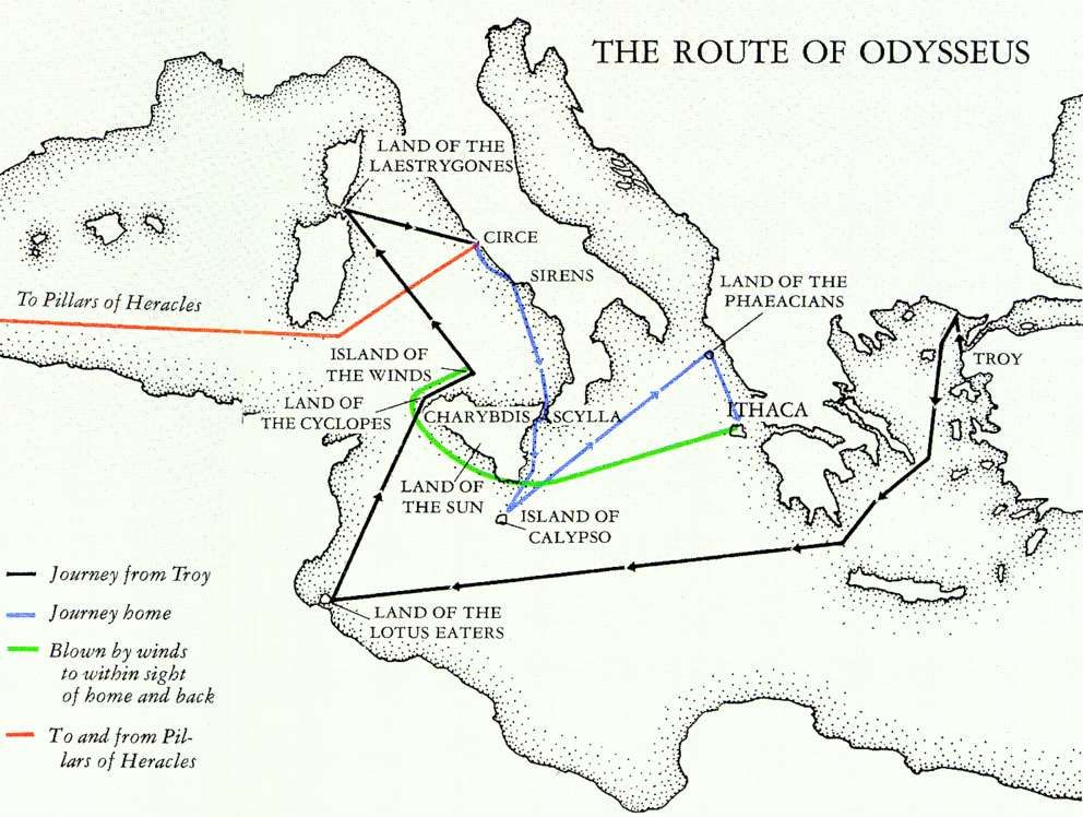 1000+ images about The Odyssey on Pinterest | Statue of, Coloring ...