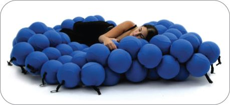Marvelous Sofa Made Of Comfy Balls Products I Love Creative Beds Short Links Chair Design For Home Short Linksinfo