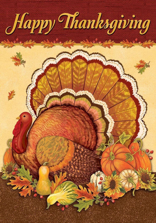 Thanksgiving Turkey House Flag Holiday Turkey Day 28 X 40 Happy Thanksgiving Turkey Thanksgiving Flag Thanksgiving Paper