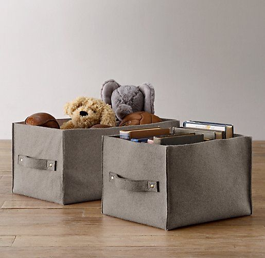 Wool Felt Storage Bin Having Such A Hard Time Finding The Perfect Size Bins  For My