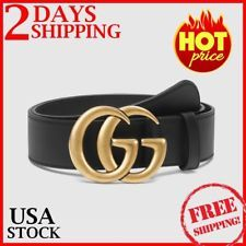 99f31c99f Women G-Style Gold Buckle Leather Slim Belts Gucci Logo Pattern For Jeans  3.2cm  2691  womenfashion