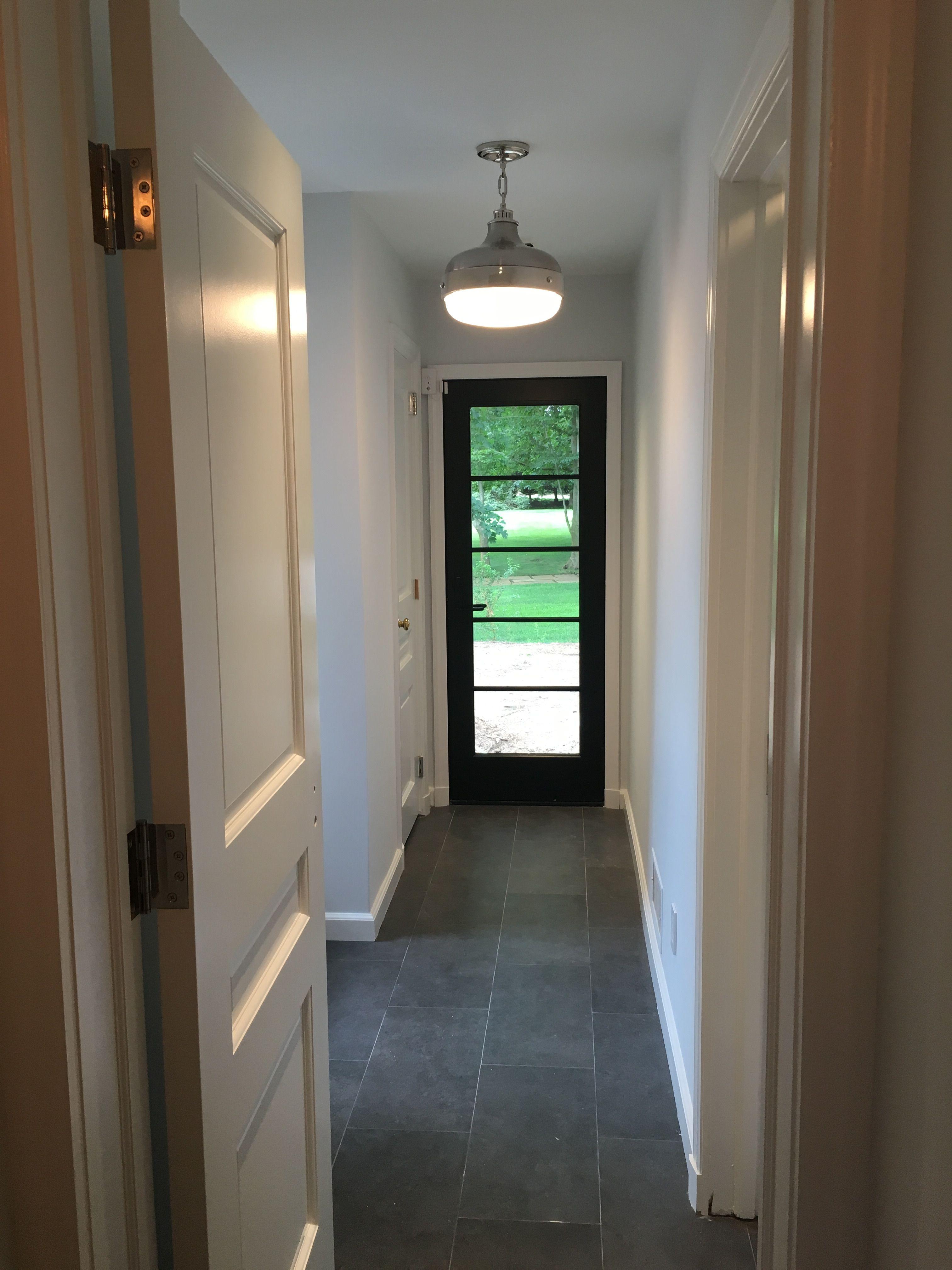 Updated Hallway And Mud Room Walls Benjamin Moore 2134 70