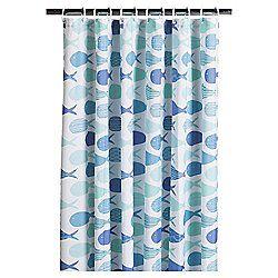 8 Tesco Fish Shower Curtain Shower Curtain Curtains Printed
