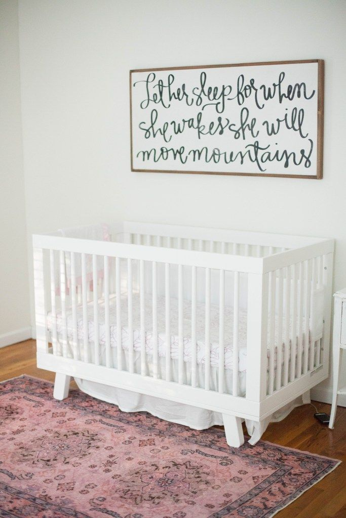 A Whimsical Bohemian S Nursery With Removable Wallpaper And Glam Accents Baby Decor Ideas