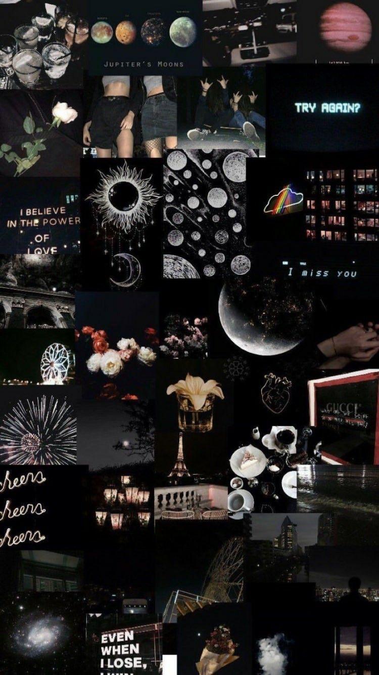 Black Tumblr Aesthetic Background