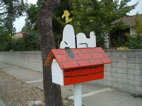 Creative Mailboxes Are A Great Way To Accent Your Home With Humor And Style Mailbox Makeover Mailbox Mailbox Design