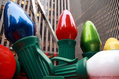 37 Awesome Giant Christmas Light Bulbs Images