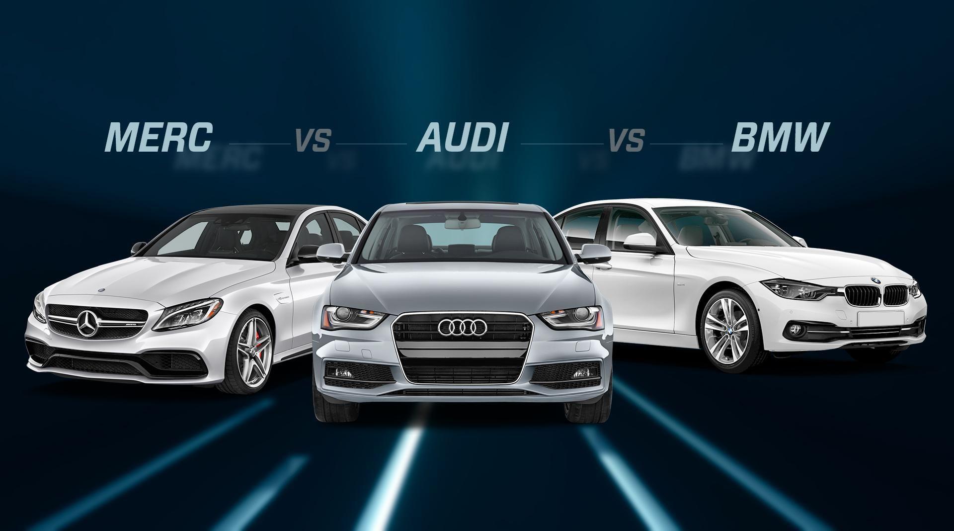 Audi Vs Mercedes >> Bmw 3 Series Vs Audi A4 Vs Mercedes Benz C Class Bmw 3