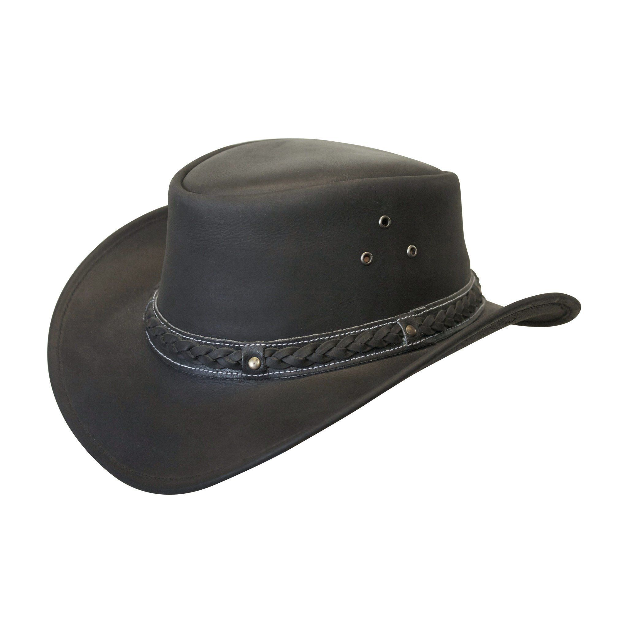 88c3ded9c25 Down Under Leather Hat  traveldestinationsaustralia