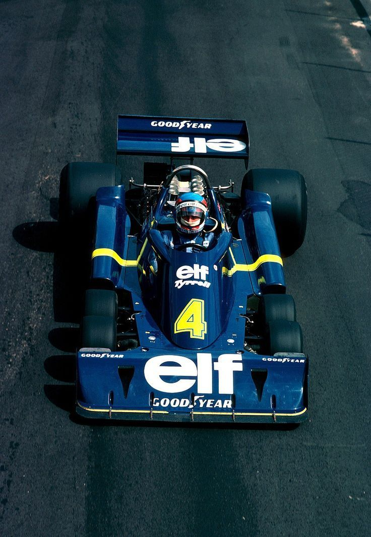 Patrick André Eugène Joseph Depailler (FRA) (Elf Team Tyrrell), Tyrrell P34 - Ford-Cosworth DFV 3.0 V8 (RET) 1976 British Grand Prix, Brands Hatch 1976 British
