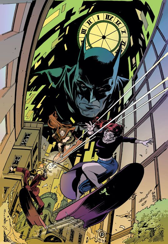 Batman: Legends of The Dark Knight #180 cover by Tom Fowler