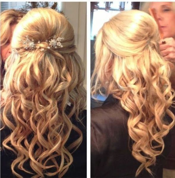 Prom Hairstyles 20 gorgeous prom hairstyle designs for short hair prom hairstyles 2017 Try 24 Half Up Half Down Prom Hairstyles