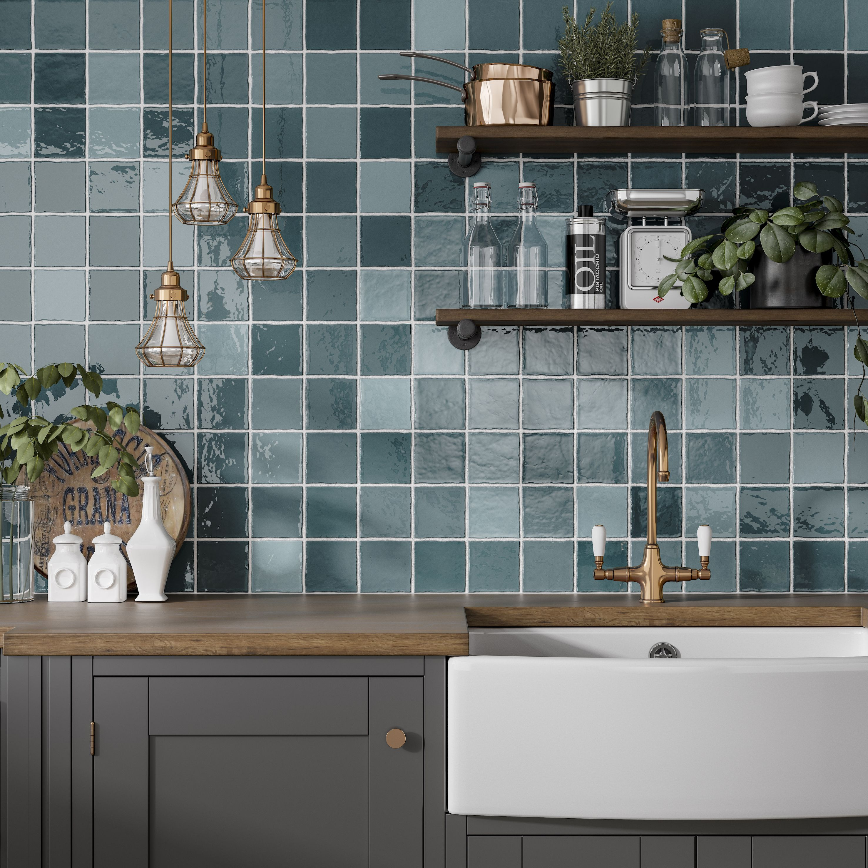How To Choose The Best Kitchen Tiles Wall Tiles Kitchen Wall Tiles Turquoise Tile Tiles in the kitchen