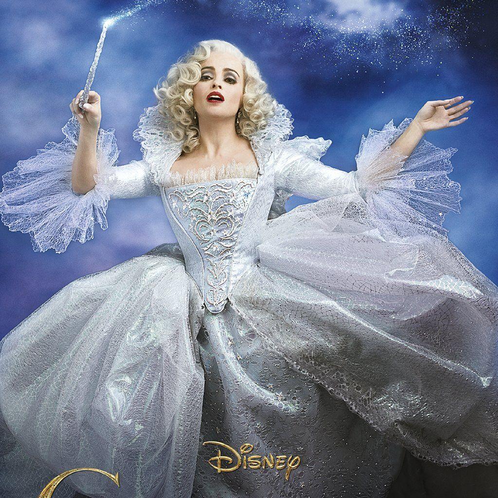 Exclusive Helena Bonham Carter Is Cinderella S Fairy Godmother