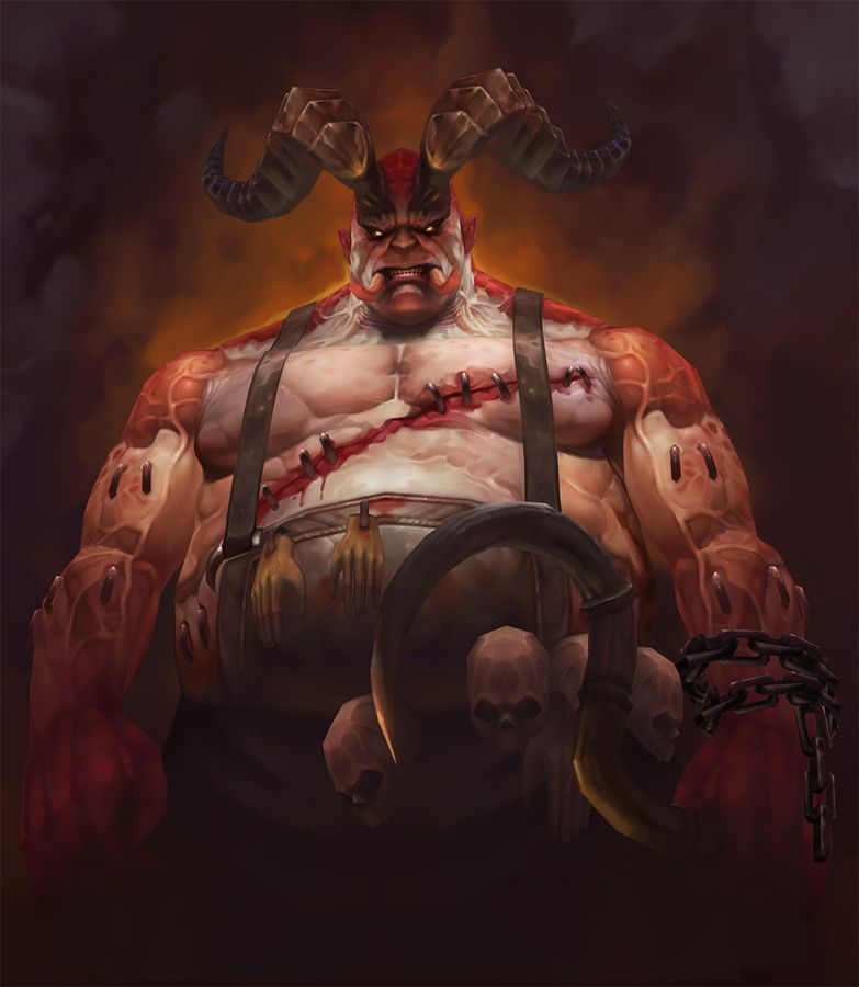 ArtStation - 3D Lowpoly_The Butcher (Diablo III), Joker Y