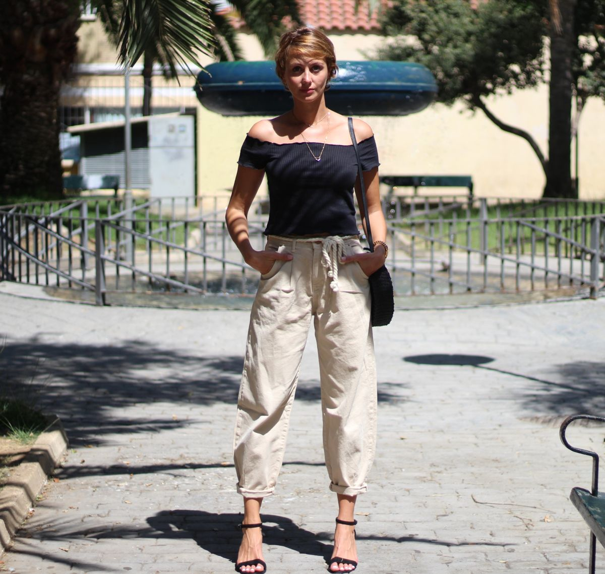 Jeans Slouchy Tipo De Pantalones Sandalias Zara Ropa De Verano