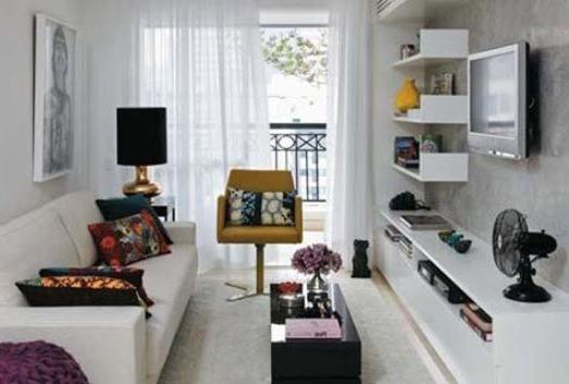 Long Narrow Living Room Designs 2014  Ideas For Decorating A Long Extraordinary Living Room Design Ideas 2014 Inspiration Design