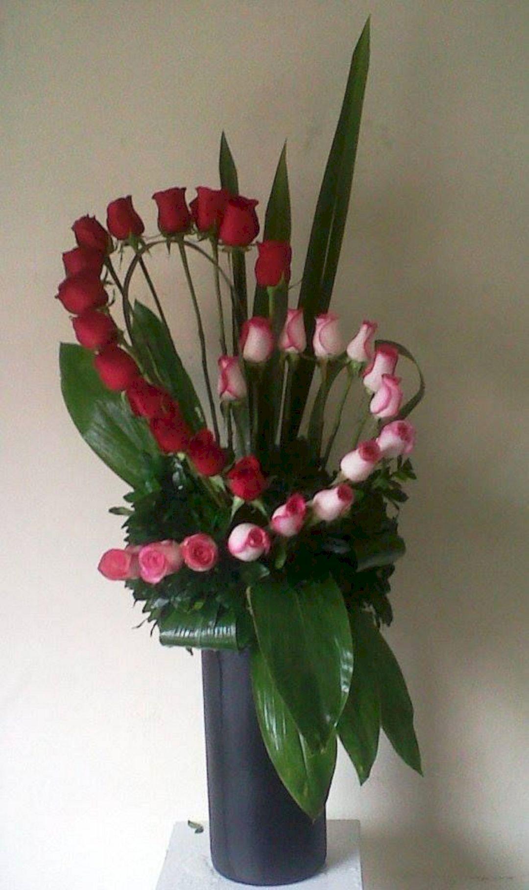 25 beautiful valentines day flowers arrangements for your beloved oto najpopularniejsze trendy w pinach w tym tygodn izmirmasajfo