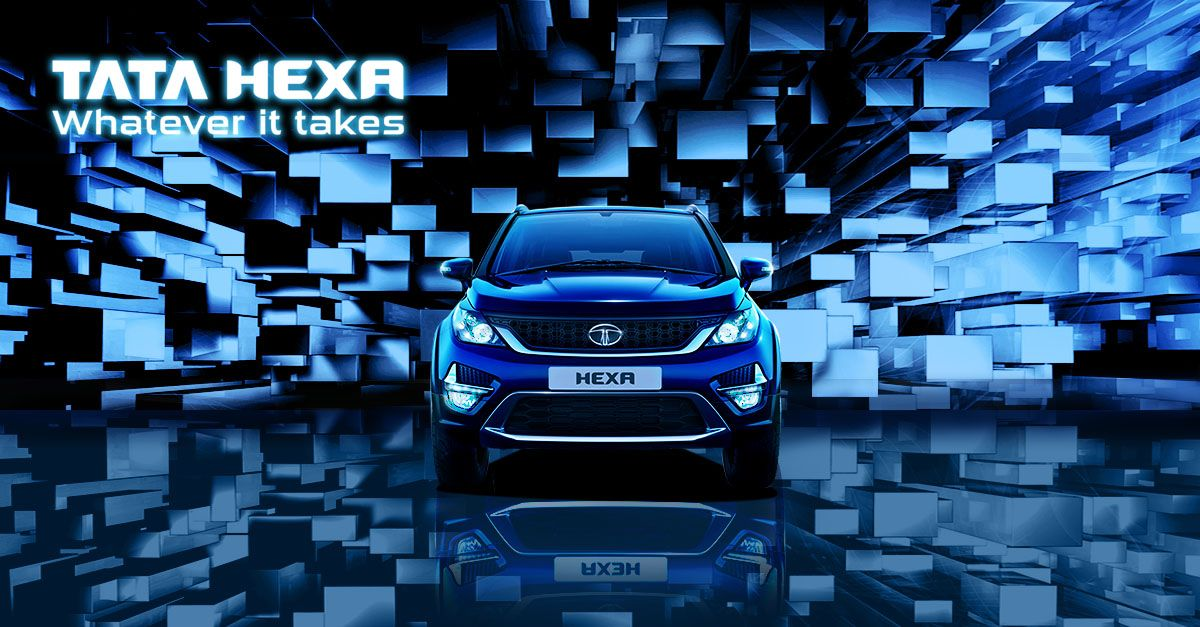 Hexa is Tata's newest premium utility vehicle. With its