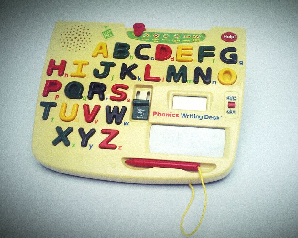 1999 Leapfrog Phonics Writing Desk