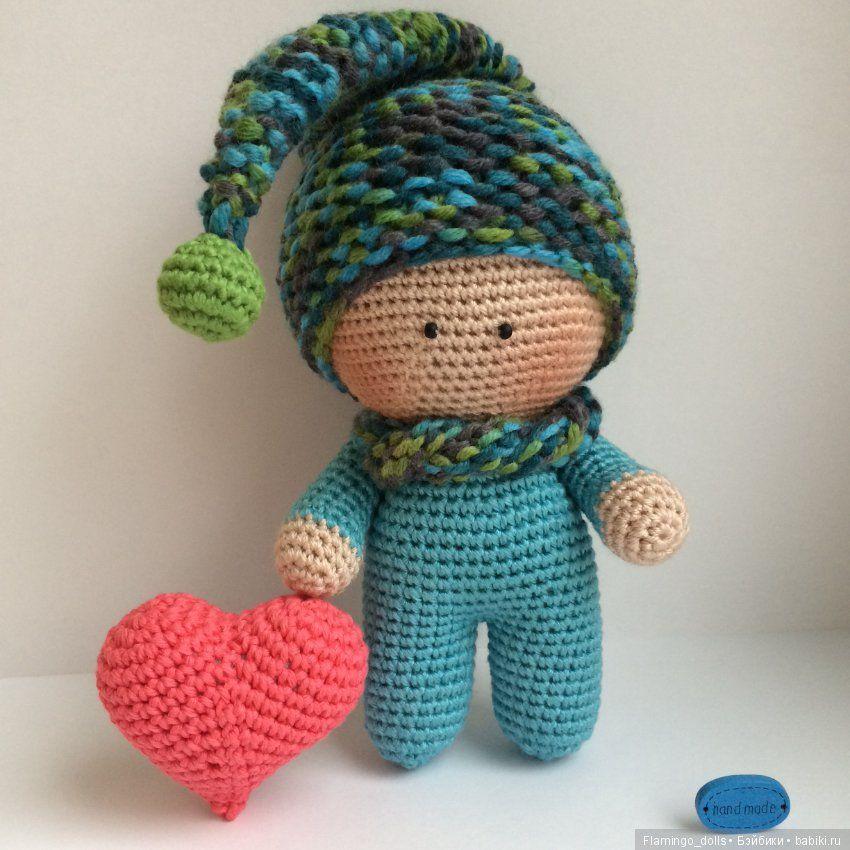 Вязаные куклы / Вязанные куклы крючком и на спицах своими ...