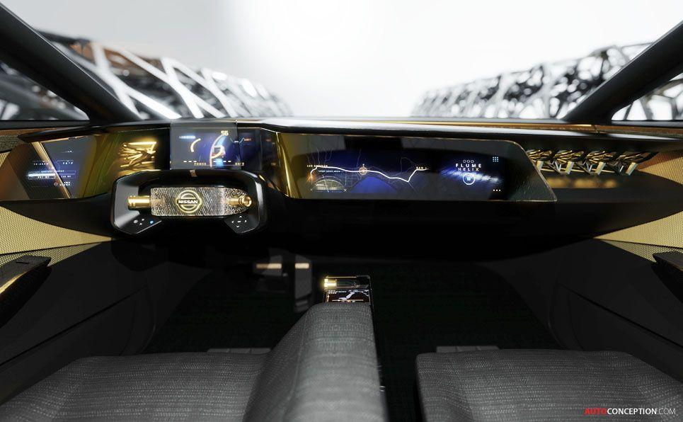 Nissan Ims Concept Revealed In Detroit Electric Car Concept