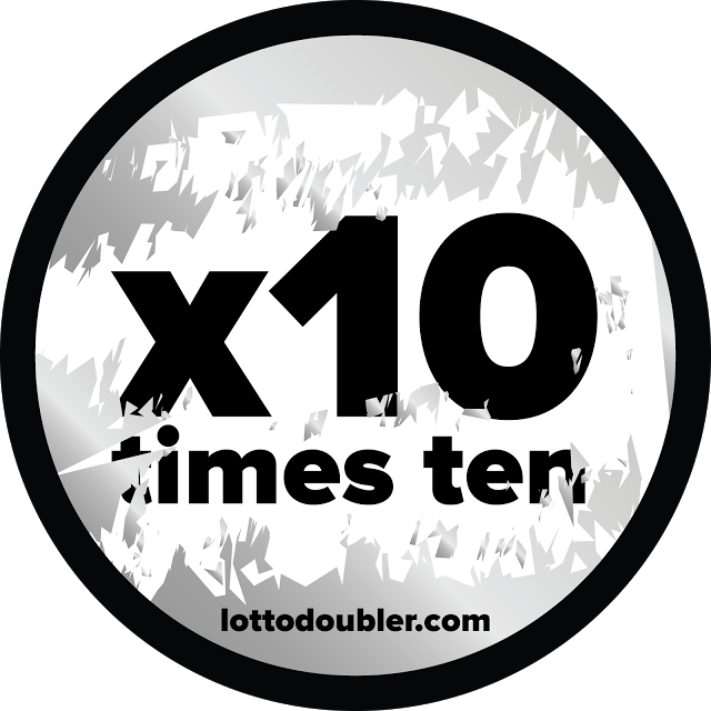 Win up to 10 times! x10, times ten Lotto Doubler instant