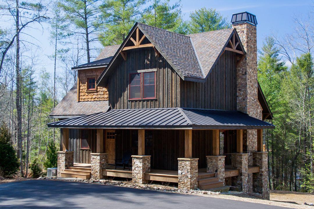 Gallery Pre Finished Siding Wood Shingles Carolina Colortones Rustic House Plans Log Homes Exterior Log Cabin Exterior