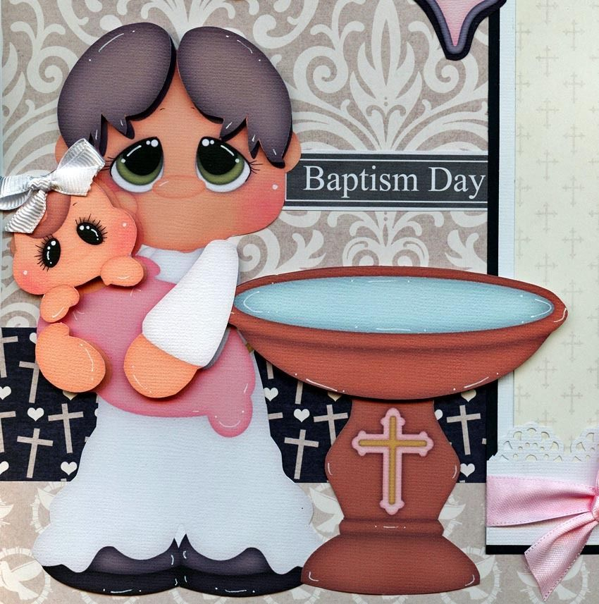 BAPTISM BABY GIRL  2 premade scrapbook pages paper piecing layout 4 album CHERRY | Crafts, Scrapbooking & Paper Crafts, Pre-Made Pages & Pieces | eBay!