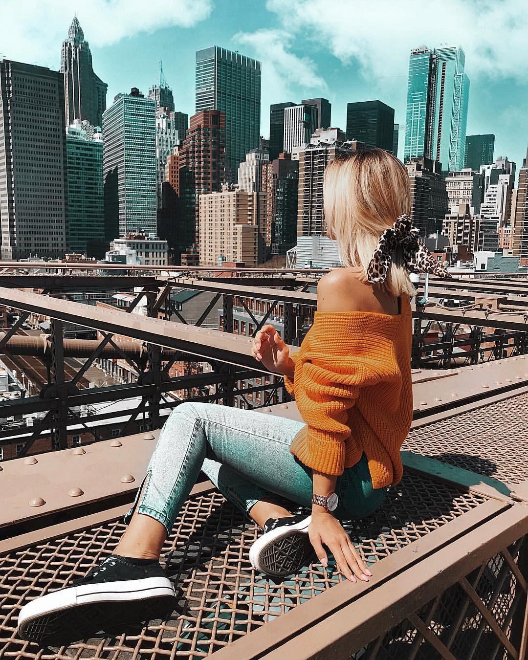 """MODA Y MINDFULNESS en Instagram: """"* Publicidad en Nueva York, Nueva Yooooooooork ♥ ️ Después de que ayer tomé el vuelo, pude experimentar otra fobia …"""""""
