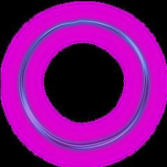 Neon Round Blue Freetoedit Circle Frame Border Geometri Aesthetic Photography Grunge Geometric Circle Circle Clipart