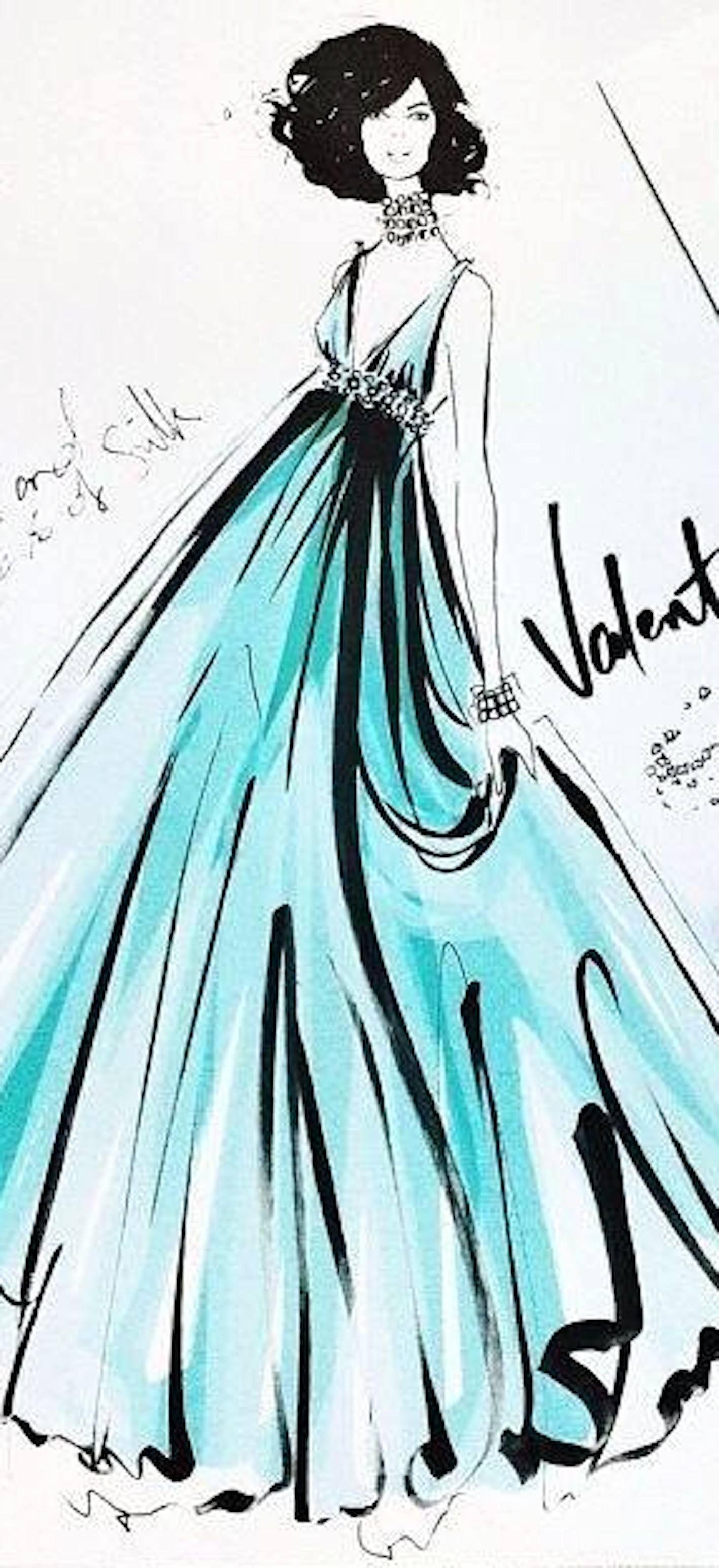 Megan Hess -Valentino Fashion Illustration | House of Beccaria ...