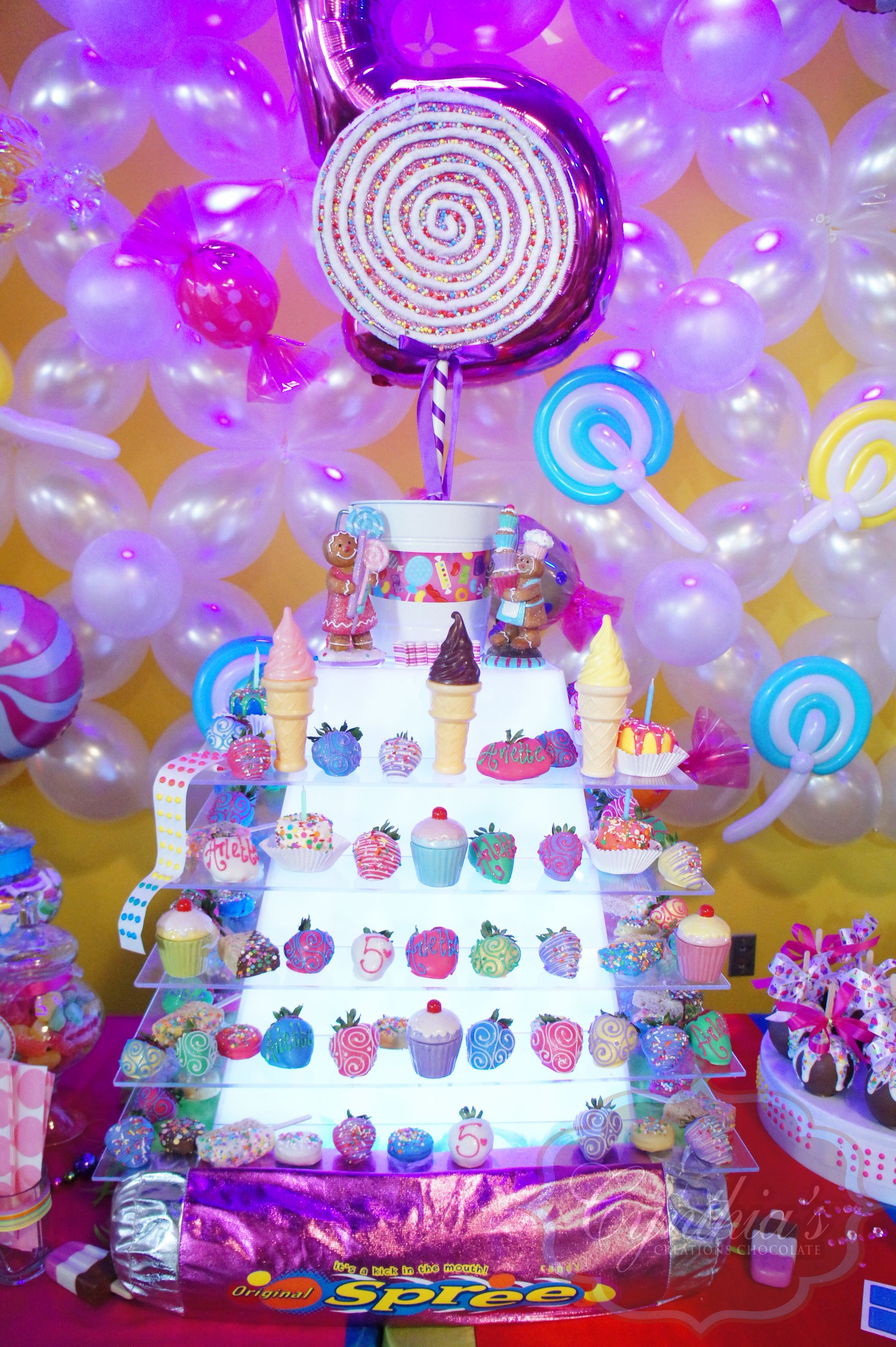 Candy Land Theme Candy Land Theme Chocolate Fountains