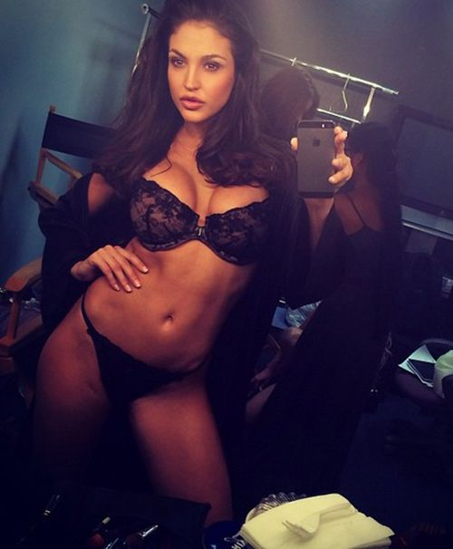 Agree, the lingerie mirror selfie babe