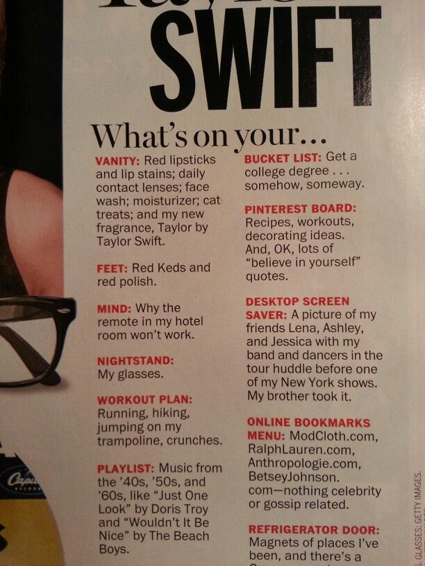 Taylor in sept. 2013 Marie Claire #2>>>>>why are we ignoring the fact that sHE HAS PINTEREST.