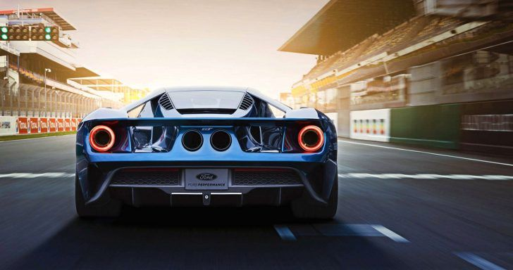 2017 Ford Gt Back View