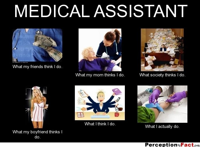 Medical Assistant What People Think I Do What I
