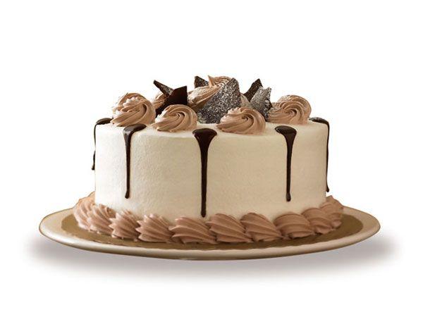 Ebony and ivory cake