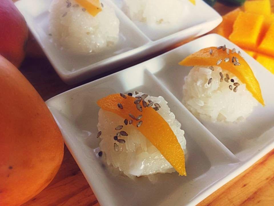 Notes Ketan Mangga Ala Thailand Koa Niew Moon Mamuang Resep Makanan Resep Masakan