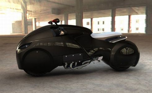 Icare Motorcycle Should Have Been In Final Fantasy: Advent Children Photo