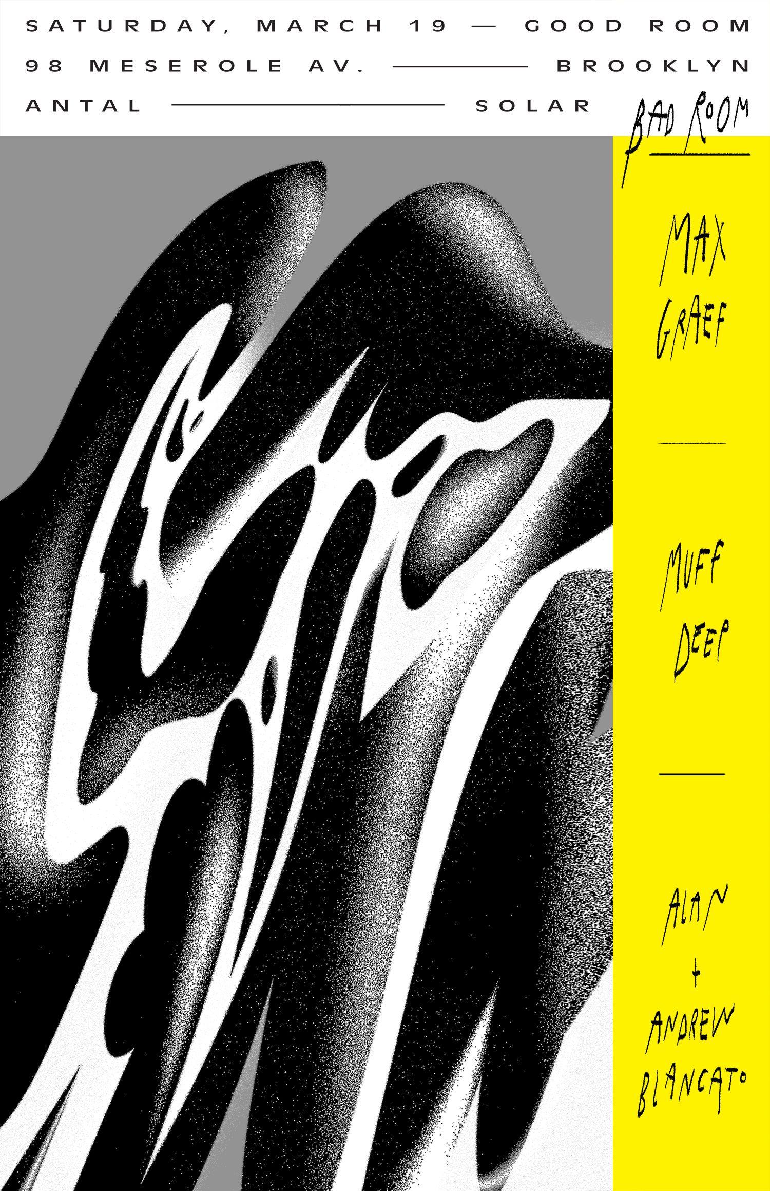 Antal Solar Good Room Poster 2016 Graphic Design Typography Graphic Design Graphic Poster