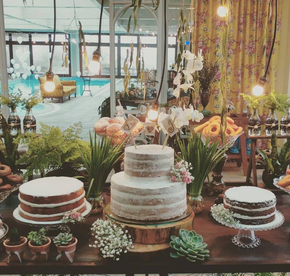 Cake Happens Rustic Wedding Cake Trio: Pin Em Manu