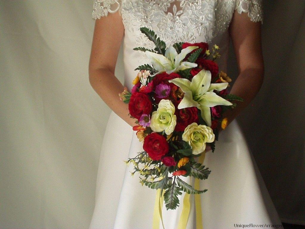 Wedding silk fake flower bouquet tutorial http wedding silk fake flower bouquet tutorial httpuniqueflowerarrangement izmirmasajfo