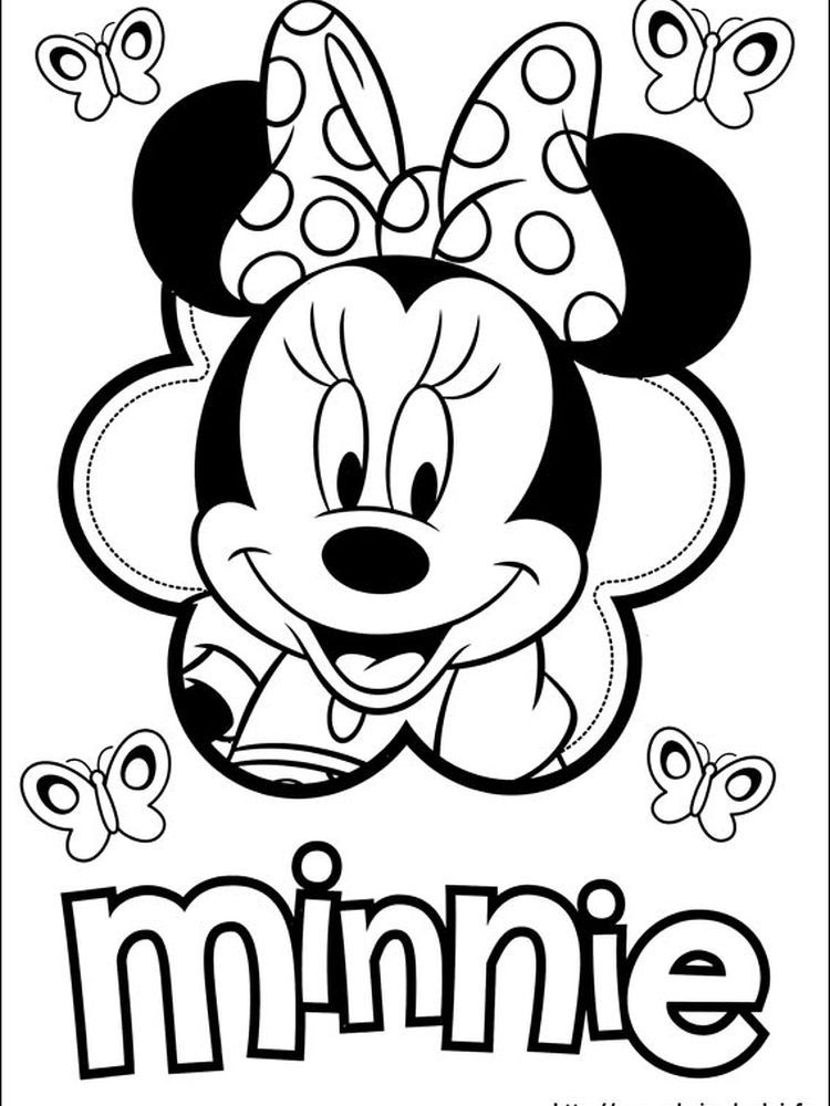 Minnie Mouse Coloring Pages Disney The Following Is Our Minnie Mouse Coloring Pag Minnie Mouse Coloring Pages Mickey Mouse Coloring Pages Minnie Mouse Drawing