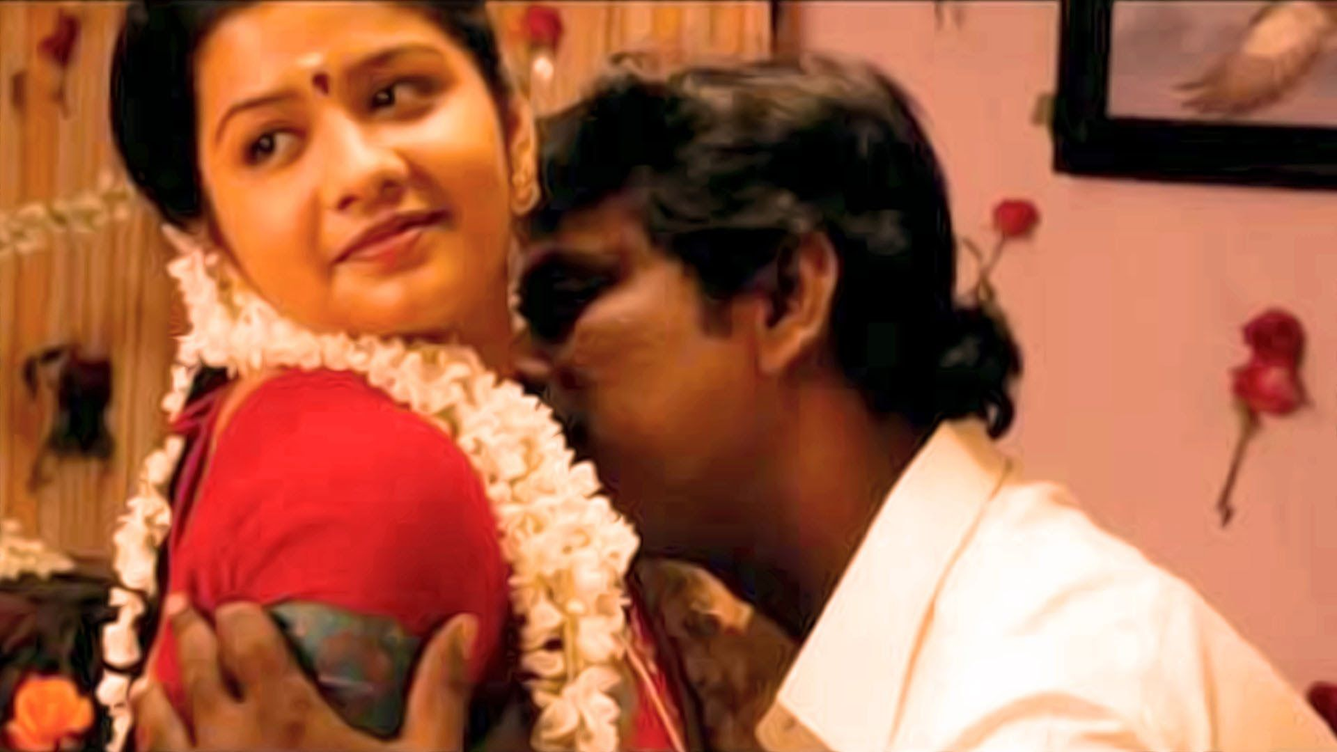 Hot Desi Mallu Couple First Night Masala Romantic Bed Scene